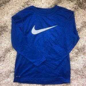 Nike long sleeved shirt...Size S